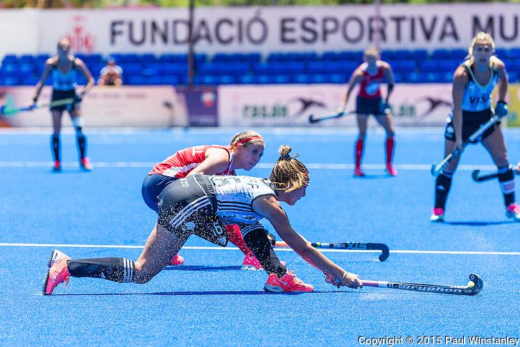 Argentina vs USA at World League Semi Finals in Valencia, Spain.