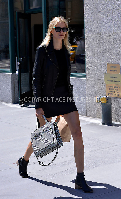 WWW.ACEPIXS.COM....April 17 2013, New York City....Model Karolina Kurkova walks in Tribeca on April 17 2013 in New York City........By Line: Curtis Means/ACE Pictures......ACE Pictures, Inc...tel: 646 769 0430..Email: info@acepixs.com..www.acepixs.com