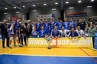GRONINGEN - Volleybal, Abiant Lycurgus - Orion, Martiniplaza, Supercup , seizoen 2017-2018, 01-10-2017,  supercup winnaar Lycurgus