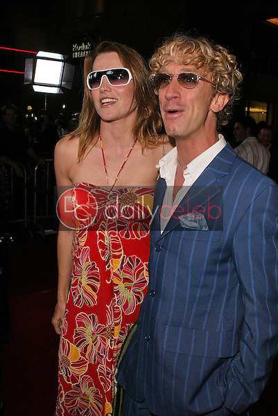 Lucy Lawless and Andy Dick