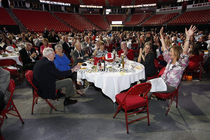 2013 Coaches vs. Cancer at the Kohl Center on May 1, 2013 in Madison, Wisconsin. (Photo by David Stluka