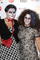 SANTA MONICA, CA - OCTOBER 27: Emily Winokur and Marissa Jaret Winokur at the Keep A Child Alive 2012 Dream Halloween Party at Barker Hangar on October 27, 2012 in Santa Monica, California.  Credit: mpi20/MediaPunch Inc. /NortePhoto