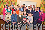 Members of the South Kerry Parkinsons Support group pictured as they attended their New Year dinner in Darby O'Gills on Sunday....