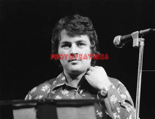 Deep Purple 1975 Ian Gillan at The Butterfly Ball.© Chris Walter.