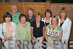 Finish calling.--------------.Employees from Eircom Call Centre Clounalour Tralee who finished working with the company after between 9 and 35yrs service celebrated last Friday night in Stokers Lodge bar/restaurant Tralee in which they attended Mass first in St Brendans church,(front)L-R Tess Daughton,Pauline Martin,Ann Carmody and Martha Griffin.(back)L-R Tim Guiheen,Mike Dillon,Noell Power and Michelle Mc Elligott.   Copyright Kerry's Eye 2008