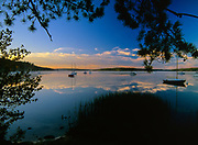 Lake Massabesic in Auburn, New Hampshire USA.