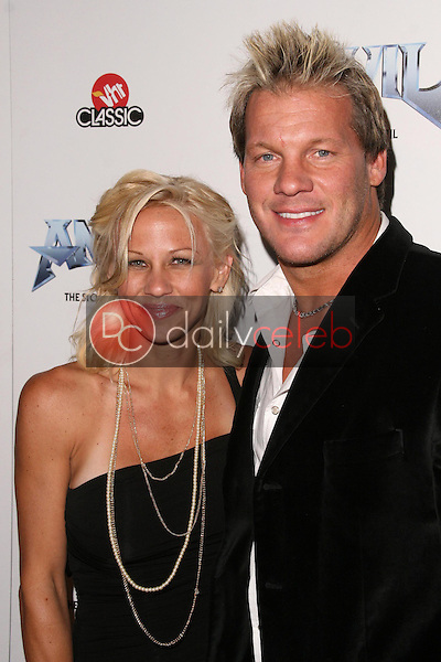Chris Jericho and wife Jessica<br />