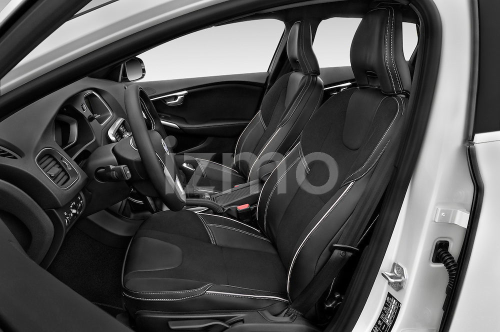 Front seat view of 2015 Volvo V40 R-Design 5 Door Hatchback Front Seat  car photos