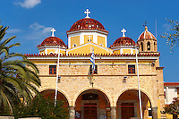 The Greek Orthodox Metropolitan church of Aegina, Saronic Islands, Greece