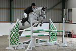 Class 5. 1.15m Members cup. British Showjumping seniors. Brook Farm training centre. Essex. 01/10/2017. MANDATORY Credit Garry Bowden/Sportinpictures - NO UNAUTHORISED USE - 07837 394578