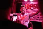 September 7, 2012. Raleigh, North Carolina.. Ron Liberti of Pipe at Slim's..Hopscotch 2012, Day Two.
