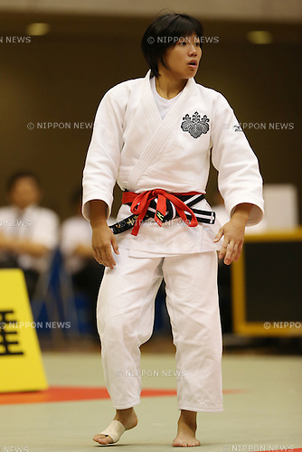 Mako Uchio,<br /> September 13, 2014 - Judo : <br /> All Japan Juior Judo Championships <br /> Women's -52kg Final<br /> at Saitama Kenritsu Budokan, Saitama, Japan. <br /> (Photo by Shingo Ito/AFLO SPORT) [1195]