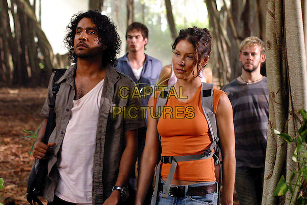 NAVEEN ANDREWS, IAN SOMERHALDER, EVANGELINE LILLY & DOMINIC MONAGHAN.in Lost.*Editorial Use Only*.www.capitalpictures.com.sales@capitalpictures.com.Supplied by Capital Pictures.