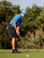 Luke Brown of Northland. Day One of the Toro Interprovincial Men's Championship, Mangawhai Golf Club, Mangawhai,  New Zealand. Tuesday 5 December 2017. Photo: Simon Watts/www.bwmedia.co.nz
