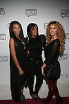 Recording Artist Melissa Williams aka Pretti Scarlett, Multi Facet Inc.   President Tresla Gilbreath  and Model Lauren Wood aka Lolo Doom Attend Angela Simmons I Am Presentation Powered Monster at 404 During Mercedes-Benz Fashion Week Fall 2014 NY
