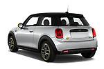 Car pictures of rear three quarter view of 2020 MINI MINI-Electric Cooper-SE-L 2 Door Hatchback Angular Rear