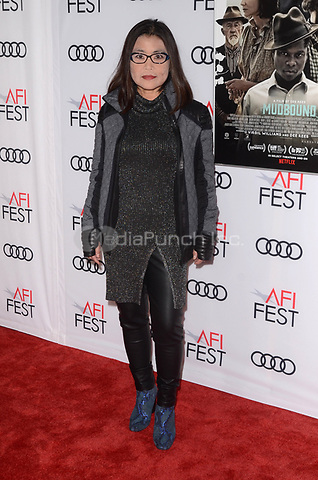 HOLLYWOOD, CA - NOVEMBER 09: Mako Kamitsuna at AFI Fest 2017 Opening Night Gala Screening Of Netflix's Mudbound at TCL Chinese Theatre on November 9, 2017 in Hollywood, California. Credit: David Edwards/MediaPunch