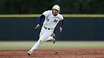 CARY, NC - MARCH 04: Notre Dame's Matt Vierling races to third base. The University of Rhode Island Rams played the University of Notre Dame Fighting Irish on March 4, 2017, at USA Baseball NTC Field 3 in Cary, NC in a Division I College Baseball game, and part of the Irish Classic tournament. Notre Dame won the game 8-4.