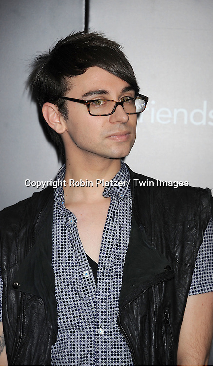 """Christian Siriano attending the New York Premiere of """"Freinds With Benefits"""" on July 18, 2011 at The Ziegfeld Theatre in New York City. The movie stars Justin Timberlake, Mila Kunis, Emma Stone, Patricia Clarkson, Jenna Elfman and Bryan Greenberg."""