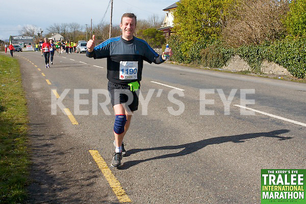 1190 Christopher Fagan who took part in the Kerry's Eye, Tralee International Marathon on Saturday March 16th 2013.