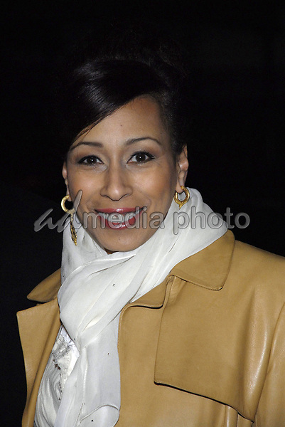 "11 November 2007 - New York, New York - Tamara Tunie. The New York premiere of Warne Bros. Pictures' ""August Rush"" held at  the Ziegfeld Theater.  Photo Credit: Bill Lyons/AdMedia *** Local Caption ***"