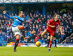 4.3.2018: Rangers v Falkirk Scottish Cup QF<br /> Bruno Alves has a shot