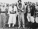 Iraq 1963.Koysanjak: General Barzani.Irak 1963.Le general Barzani a Koysanjak