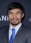 Manny Pacquiao attends The Los Angeles premiere of<br /> MANNY at The TCL Chinese Theater  in Hollywood, California on January 20,2015                                                                               © 2015 Hollywood Press Agency