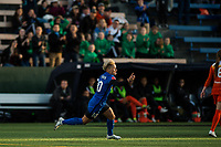 Seattle, Washington -  Saturday April 22, 2017: Jess Fishlock during a regular season National Women's Soccer League (NWSL) match between the Seattle Reign FC and the Houston Dash at Memorial Stadium.