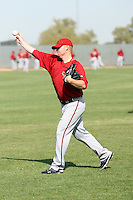 Barry Enright, Arizona Diamondbacks 2010 minor league spring training..Photo by:  Bill Mitchell/Four Seam Images.