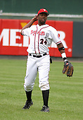 August 31, 2003:  J.J. Johnson of the Lansing Lugnuts during a game at Cooley Stadium in Lansing, Michigan.  Photo by:  Mike Janes/Four Seam Images