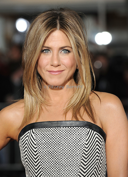 Jennifer Aniston at the World Premiere of Wanderlust held at the Mann Village in Westwood, CA.. February 16, 2012