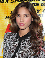 LOS ANGELES, CA - AUGUST 14: Kelsey Chow arrives at the 'Hit &amp; Run' Los Angeles Premiere on August 14, 2012 in Los Angeles, California MPI21 / Mediapunchinc /NortePhoto.com<br />