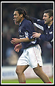 23/11/2002                   Copyright Pic : James Stewart.File Name : stewart-dundee v utd10.CABBALLERO CELEBRATES WITH NEMSADZE AFTER SCORING THE FIRST.Payments to :-.James Stewart Photo Agency, 19 Carronlea Drive, Falkirk. FK2 8DN      Vat Reg No. 607 6932 25.Office     : +44 (0)1324 570906     .Mobile  : +44 (0)7721 416997.Fax         :  +44 (0)1324 570906.E-mail  :  jim@jspa.co.uk.If you require further information then contact Jim Stewart on any of the numbers above.........