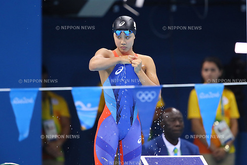 Runa Imai (JPN), <br /> AUGUST 8, 2016 - Swimming : <br /> Women's 200m Individual Medley Semi-final <br /> at Olympic Aquatics Stadium <br /> during the Rio 2016 Olympic Games in Rio de Janeiro, Brazil. <br /> (Photo by Yohei Osada/AFLO SPORT)