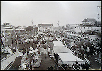 BNPS.co.uk (01202 558833)<br /> Pic: 25BlytheRoad/BNPS<br /> <br /> Festivities for the King&rsquo;s birthday in 1892 outside the palace.<br /> <br /> Stunning 125 year-old pictures of Thailand which showcase the tropical paradise long before it became a tourist hot-spot have emerged.<br /> <br /> The collection of photographs from the early 1890s include images of the King's birthday celebrations in 1892, the King's palace and the Bangkok architecture.<br /> <br /> Also included in the collection are photographs of Hong Kong under British crown rule in 1895 including of British seamen, the Hong Kong cricket team and the native army.<br /> <br /> The photo album will go under the hammer on January 25 and is tipped to sell for &pound;1,500.<br /> <br /> The owner of the album is believed to have been a member of the Royal Engineers or connected with them.<br /> <br /> The fascinating photos provide a snapshot of Thailand under the rule of King Chulalongkorn.<br /> <br /> He was the first Siamese king to have a full western education, having been taught by British governess Anna Leonowens whose memoirs were transported to the silver screen in the famous film The King and I.