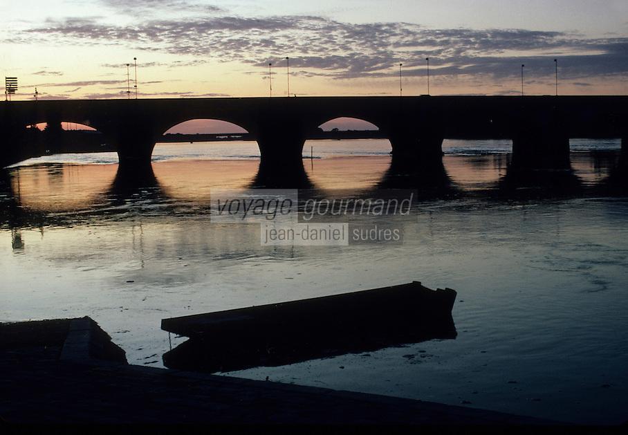 Europe/France/Pays de la Loire/Maine-et-Loire/Saumur : La Loire