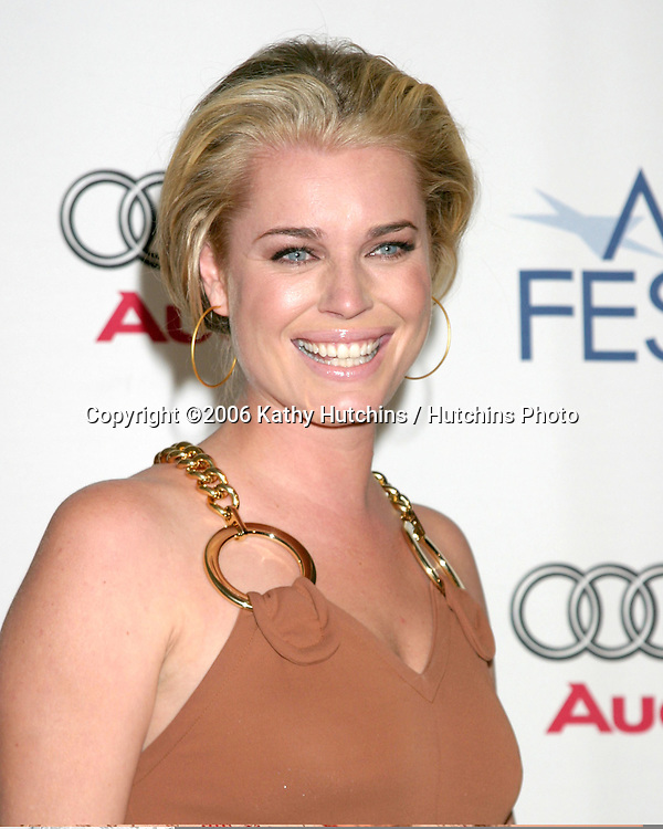 "Rebecca Romijn.""Lies & Alibis"" Screening.AFI Festival.ArcLight Theater.Los Angeles, CA.November 11, 2006.©2006 Kathy Hutchins / Hutchins Photo...."