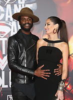LOS ANGELES, CA - NOVEMBER 13: Gary Clark Jr., Nicole Trunfio, at the Justice League film Premiere on November 13, 2017 at the Dolby Theatre in Los Angeles, California. Credit: Faye Sadou/MediaPunch