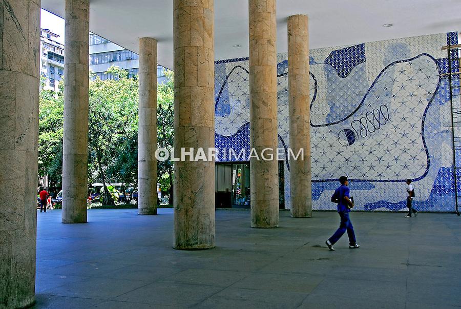 Palácio Gustavo Capanema, antigo MEC. Rio de Janeiro. 2007. Foto de Luciana Whitaker.