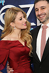 Caissie Levy and David Reiser attends the Broadway Opening Night After Party for 'Frozen' at Terminal 5 on March 22, 2018 in New York City.