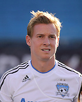 San Jose Earthquakes defender Chris Leitch (3).  The New England Revolution and San Jose Earthquakes play to a scoreless draw at Gillette Stadium on May 15, 2010