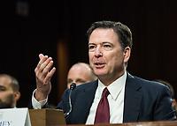 JUN 08 James Comey testifies on Capitol Hill