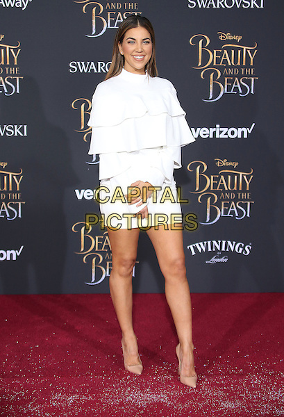 02 March 2017 - Hollywood, California - Liz Hernandez. Disney's &quot;Beauty and the Beast' World Premiere held at El Capitan Theatre.   <br /> CAP/ADM/FS<br /> &copy;FS/ADM/Capital Pictures