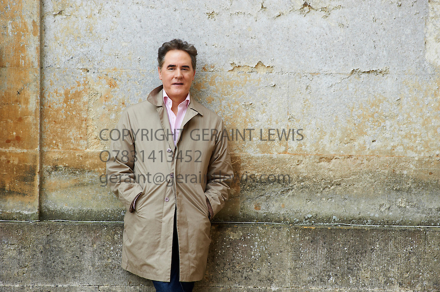 Peter York,British Management Consultant ,Broadcaster and author. Co-Wrote Harper and Queens Official Sloan Ranger Handbook  at Blenheim Palace at The Woodstock Literary Festival 2010 .CREDIT Geraint Lewis