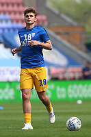 Preston North End's Ryan Ledson during the pre-match warm-up <br /> <br /> Photographer David Shipman/CameraSport<br /> <br /> The EFL Sky Bet Championship - Wigan Athletic v Preston North End - Monday 22nd April 2019 - DW Stadium - Wigan<br /> <br /> World Copyright © 2019 CameraSport. All rights reserved. 43 Linden Ave. Countesthorpe. Leicester. England. LE8 5PG - Tel: +44 (0) 116 277 4147 - admin@camerasport.com - www.camerasport.com