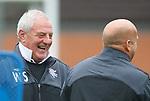 Walter Smith having a chuckle