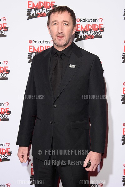 Ralph Inneson arriving for the Empire Awards 2018 at the Roundhouse, Camden, London, UK. <br /> 18 March  2018<br /> Picture: Steve Vas/Featureflash/SilverHub 0208 004 5359 sales@silverhubmedia.com