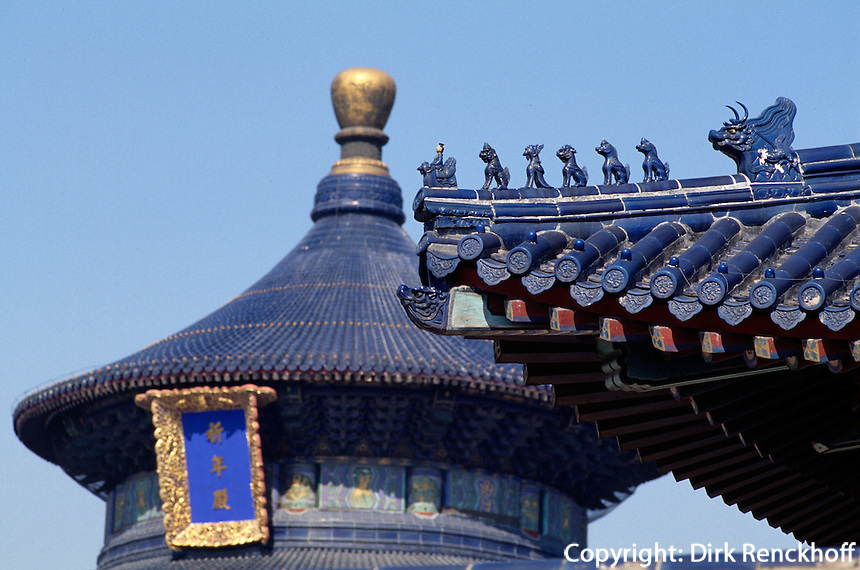 Halle des Ernteopfers im Himmelstempel (Tian Tan, Himmelsaltar), Peking, China, Unesco-Weltkulturerbe