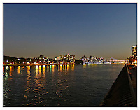 NEW YORK, NY - AUGUST 28: View of the East River from Carl Schurz Park in New York, NY on August 28, 2012. Photo Credit: Thomas R Pryor